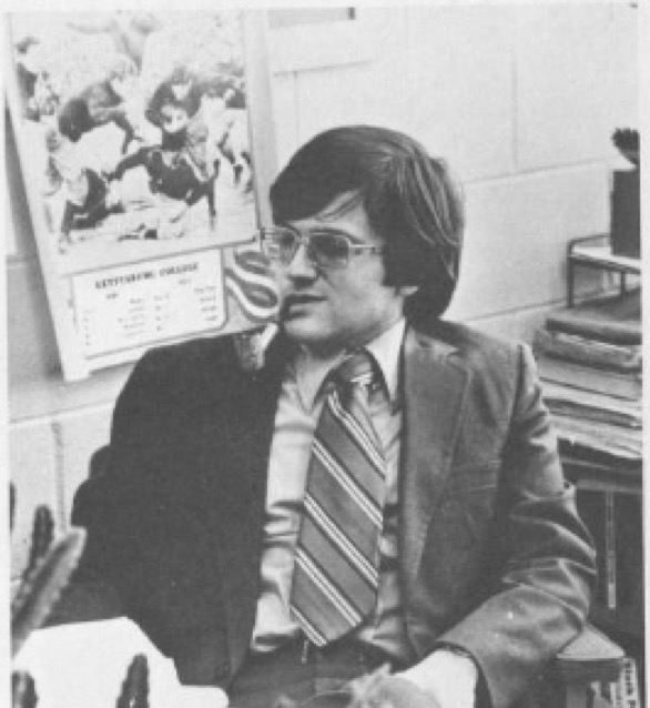 Emmons, early in his years as a student and educator (Photo courtesy of Charlie Emmons)
