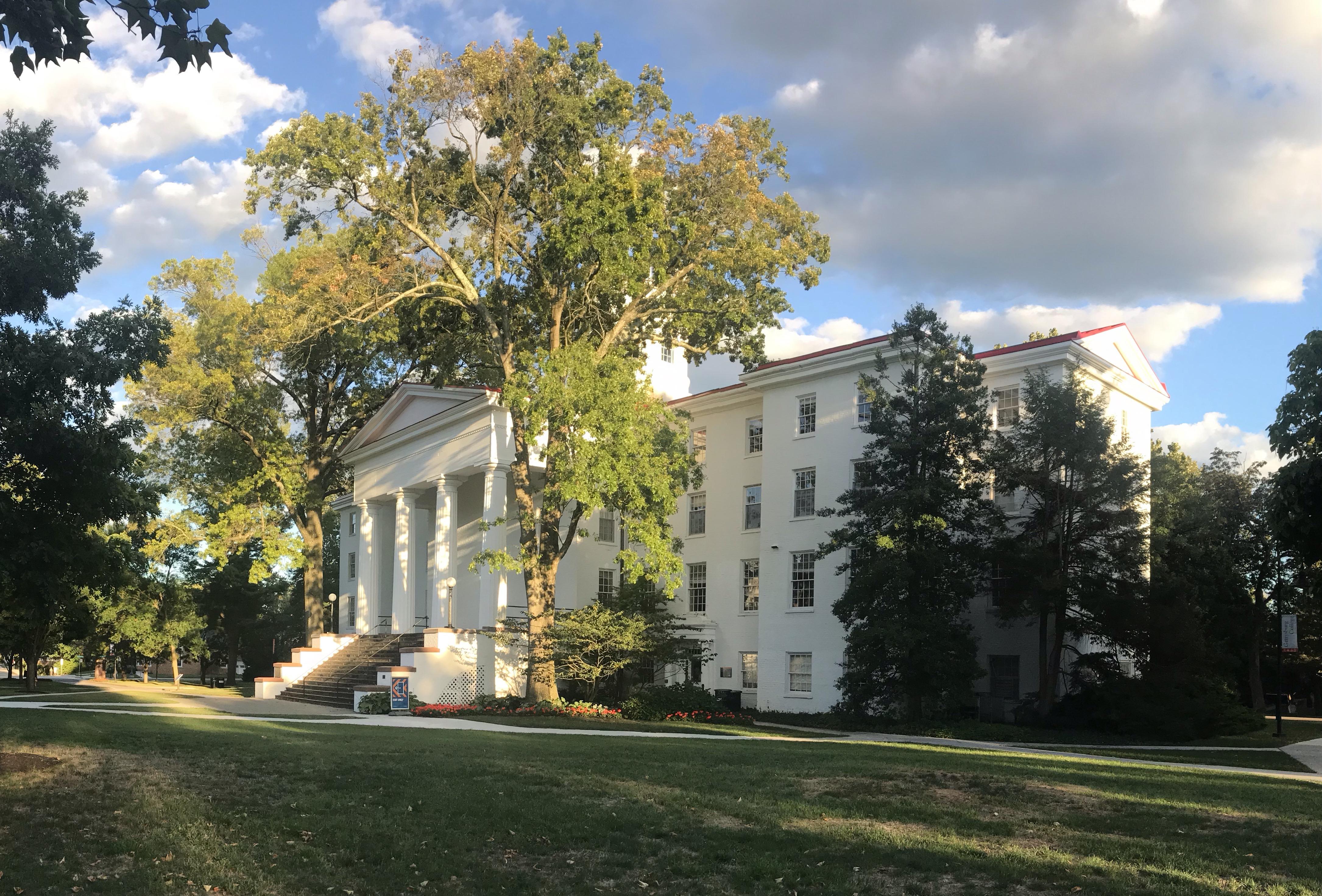 Penn Hall (Photo Nicole DeJacimo/The Gettysburgian)