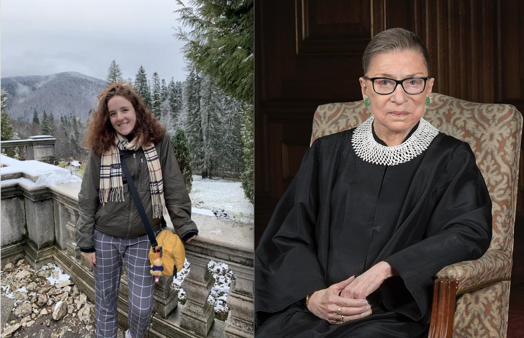 Hannah Labovitz '21 reflects on the passing of Justice Ruth Bader Ginsburg.