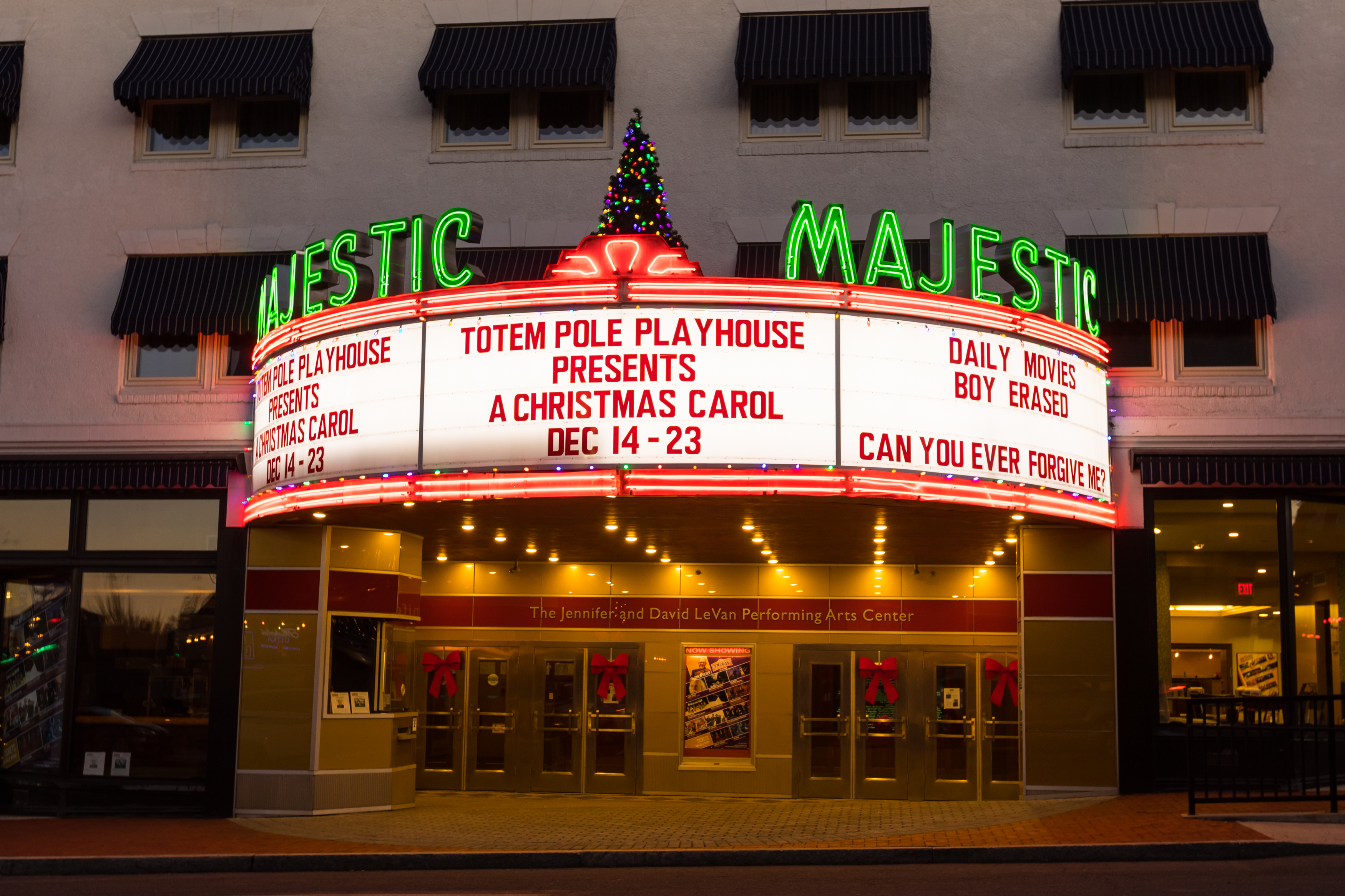The Majestic Theatre. (Courtesy of Gettysburg College Flickr.)