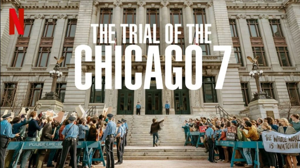 (Promotional photo from The Trial of the Chicago 7)