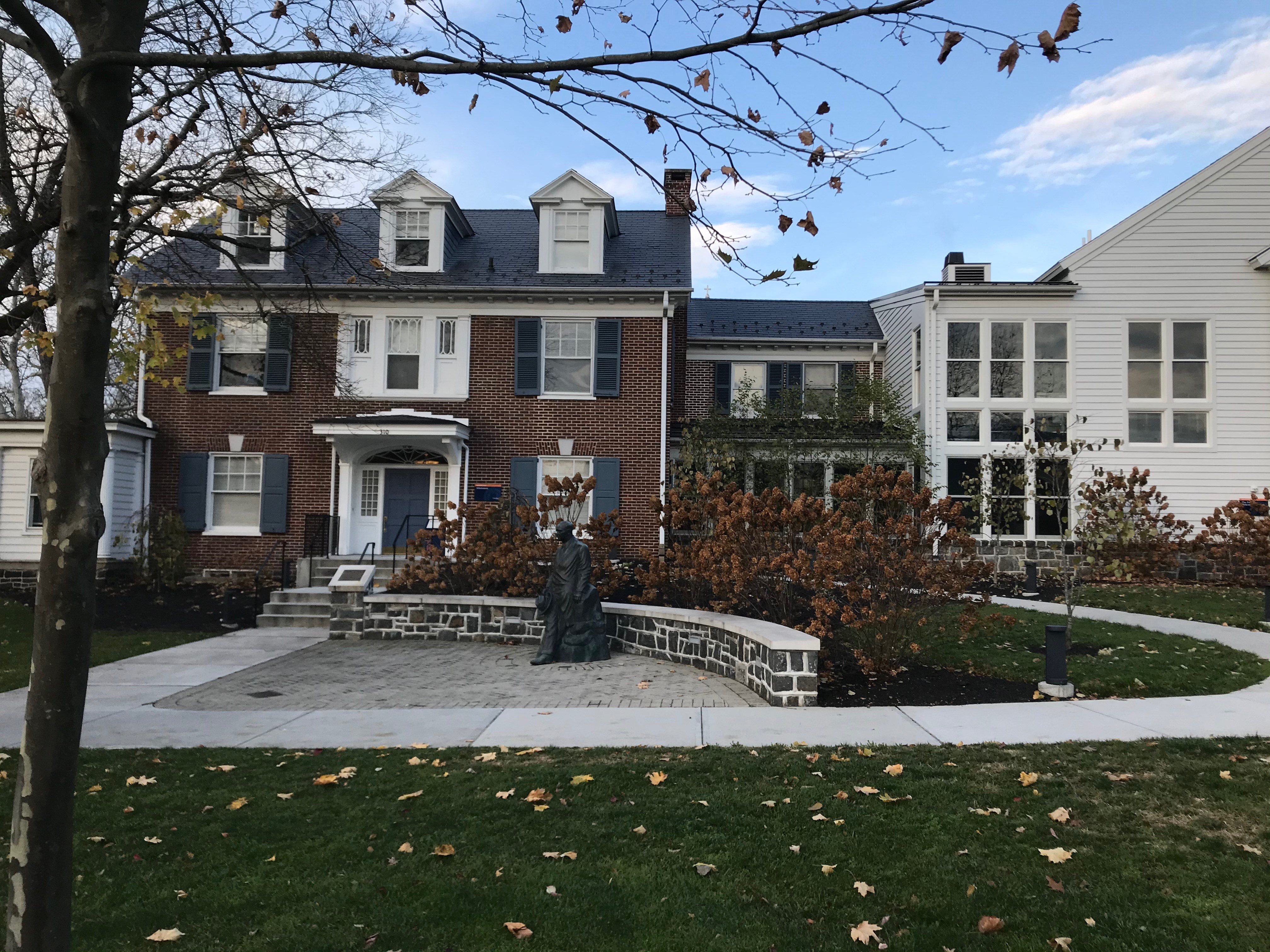The Admissions Office at Gettysburg College (Photo courtesy of Alexander Bove '24)