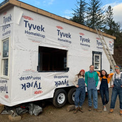 Doing Great Work: Building a Tiny House in a Pandemic