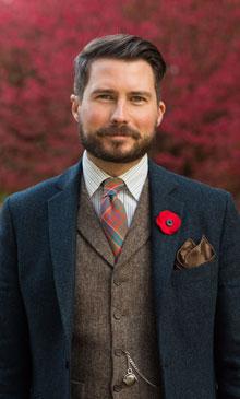 Professor Ian Isherwood (Photo courtesy of Gettysburg College)