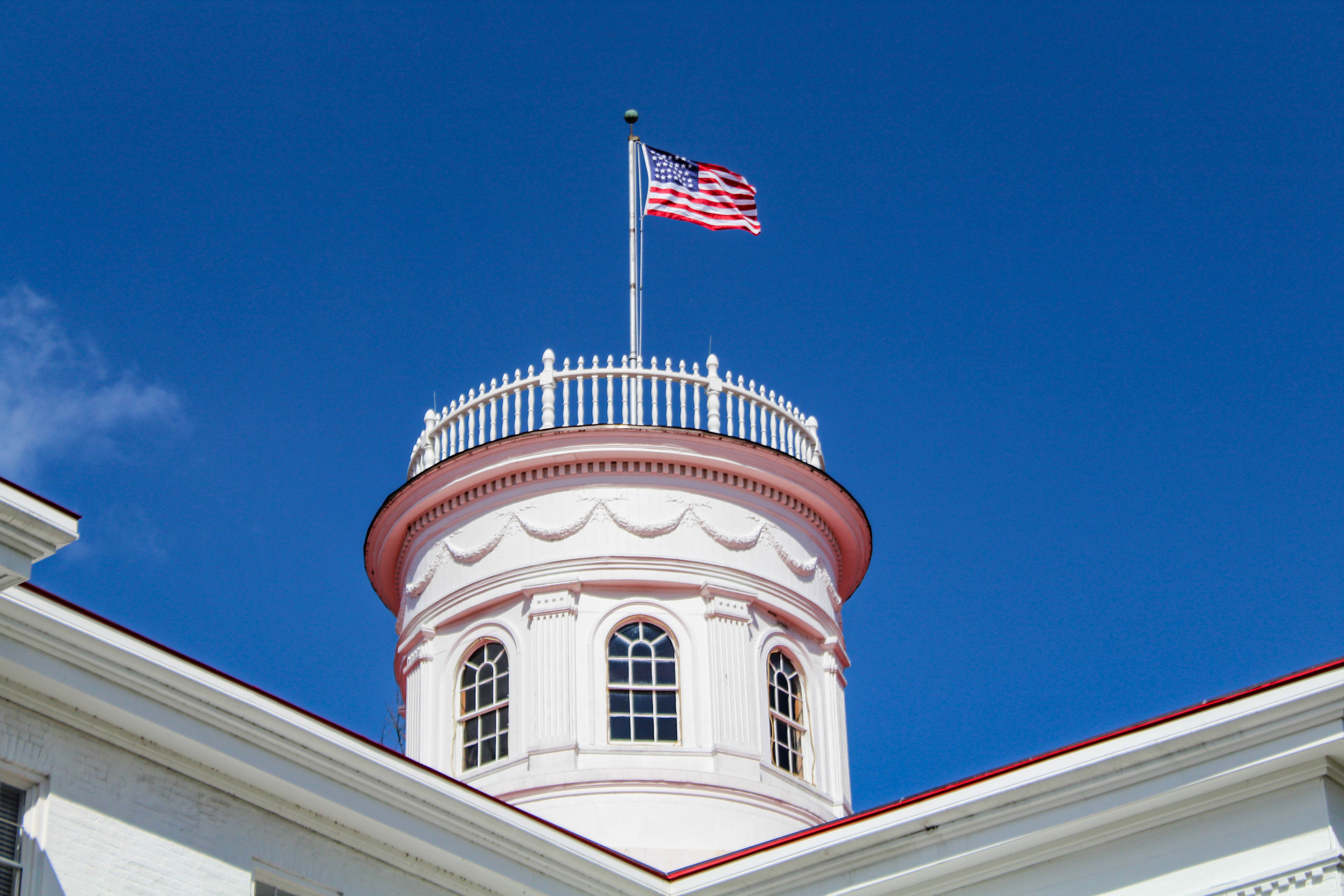 The cupola at Penn Hall (Photo Mary Frasier/The Gettysburgian)