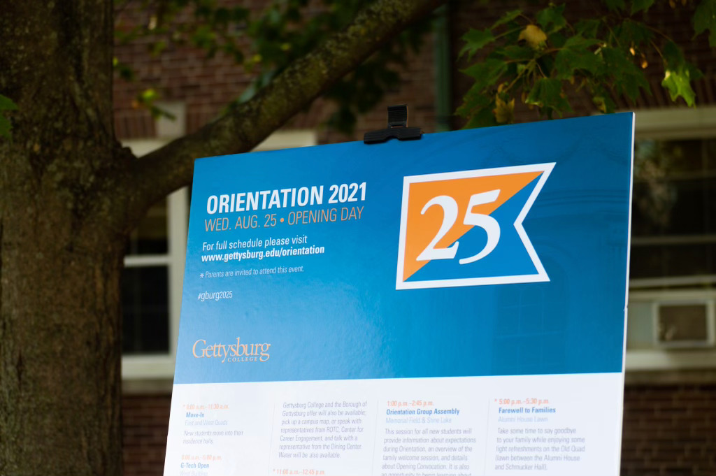 Move-In Day kicked off orientation for the Class of 2025