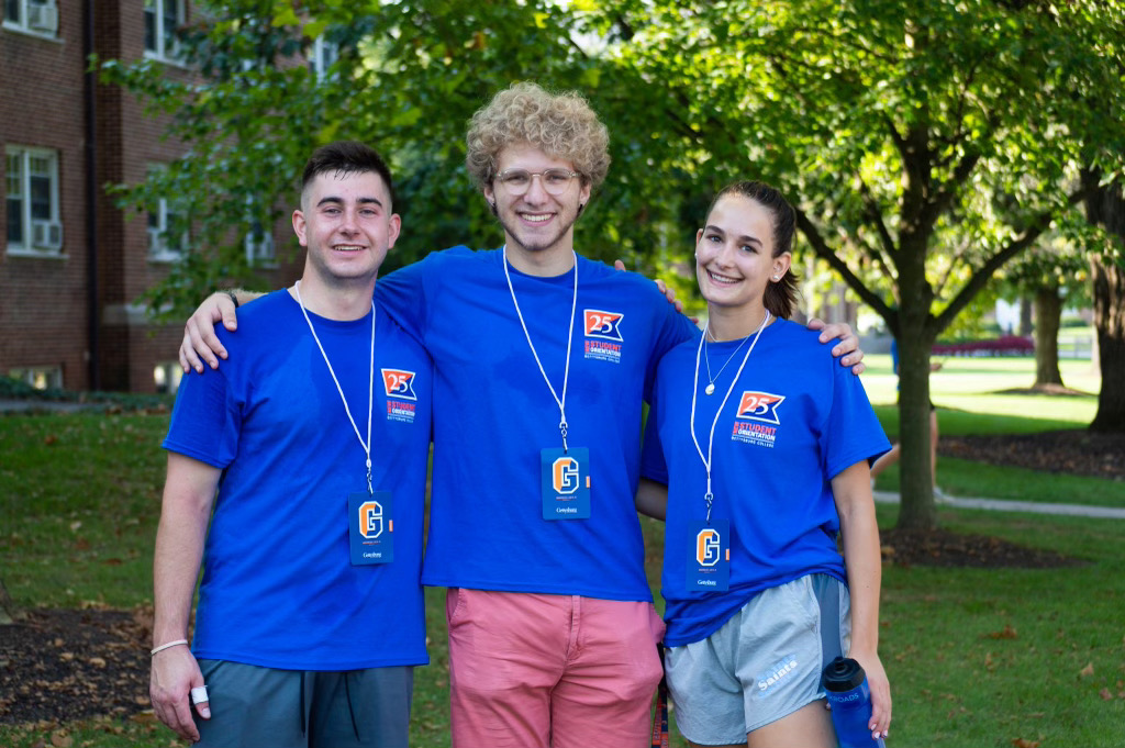Residence Life staff getting ready for first-year students (Photo Aly Wein/The Gettysburgian)