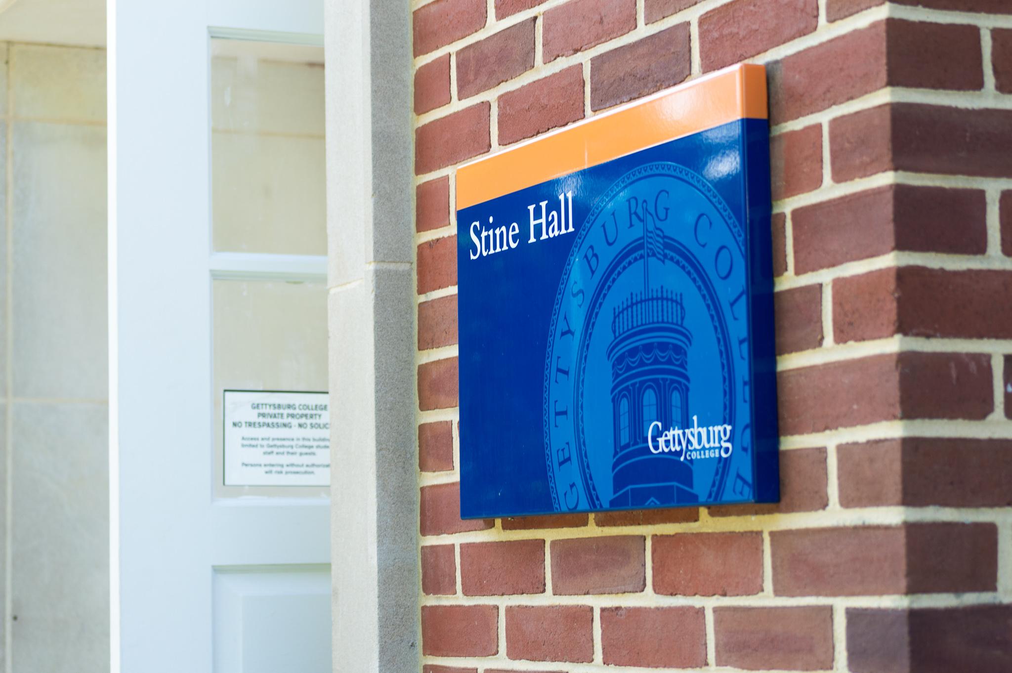 Stine Hall (By Aly Wein/The Gettysburgian)