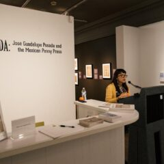 Vanessa Martinez leads gallery talk on Jose Guadalupe Posada
