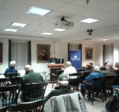 Nichols Delivers Scharf Lecture