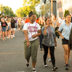 Dodging the Bullet: First-Year Walk