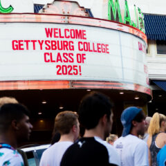 Class of 2025 Steps Into Gettysburg Tradition with First-Year Walk