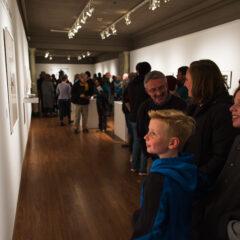 New Schmucker exhibitions gain popularity