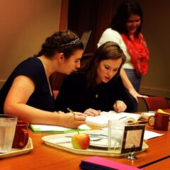 Peer research mentors provide valuable services while gaining valuable experiences