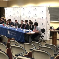 Political Clubs Consider the Issues at Eisenhower Institute Campus-Wide Policy Debate