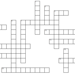 From the Magazine: A Gettysburg College Crossword Puzzle