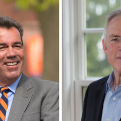 Q&A with the Chair and Executive Vice Chair of the Board of Trustees