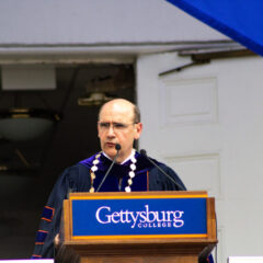 In Email To Gettysburg's Senior Class, Iuliano Announces Plans To Maintain Traditions This Spring