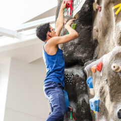 Collegiate Climbers Compete in Annual Battle at the 'Burg Competition