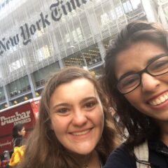 My Day at the New York Times