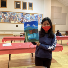 Campus Paint Night Celebrates Project Gettysburg-León