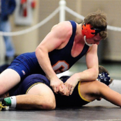 Wrestling finishes 9th at Centennial Conference Championship
