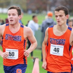 Men's Cross Country finishes strong with regional competition