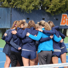 Women's Tennis Beats Johns Hopkins in First Wii match