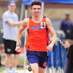 Men's track and field move past injuries