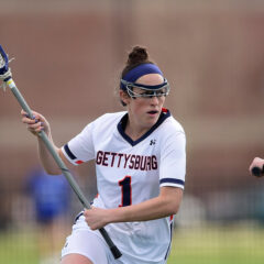 Women's Lacrosse Team Keeps Eye on the Prize, Earns Second Consecutive National Title