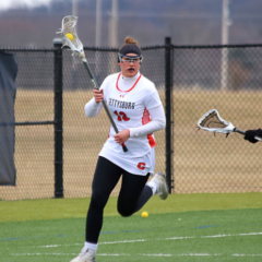 Women's Lacrosse Team Ranked Number Three in National Polls After Weekend Win