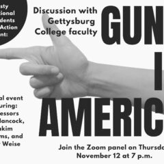 Students Demand Action and Amnesty International Host Faculty Panel about Guns in America