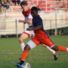 Men's Soccer Falls to Second-Ranked Blue Jays