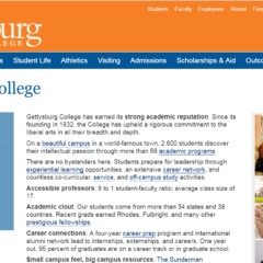 Gettysburg to Redesign Website for First Time in 11 Years Amid ADA Non-Compliance