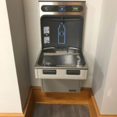 College Launches Sustainability Initiatives Including New Water Bottle Refill Stations