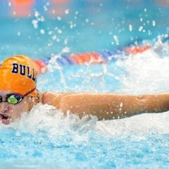 Women's swimming finishes strong in final duel meet